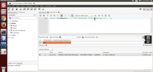 Write, Read, Delete File from MySQL Server(C programming)