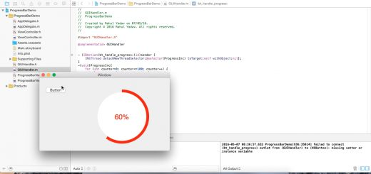 Circular Progress Bar using Objective C