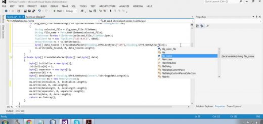 Large File Transfer using C#