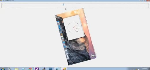 Rotate Image using C# [Trackbar and Bitmap]