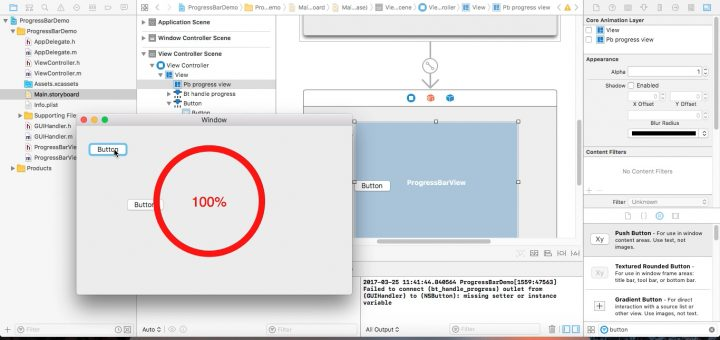 w to progress bar xcode - CodeWeblogcom